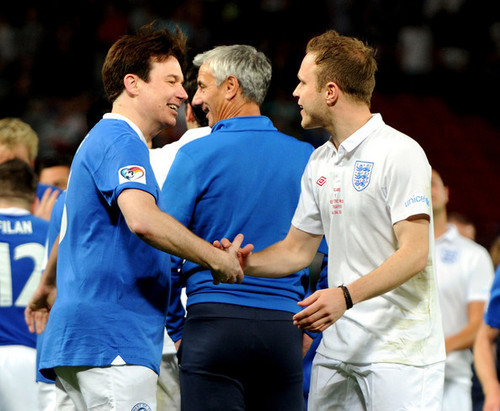 The Rest of the World at the UNICEF SoccerAid charity match