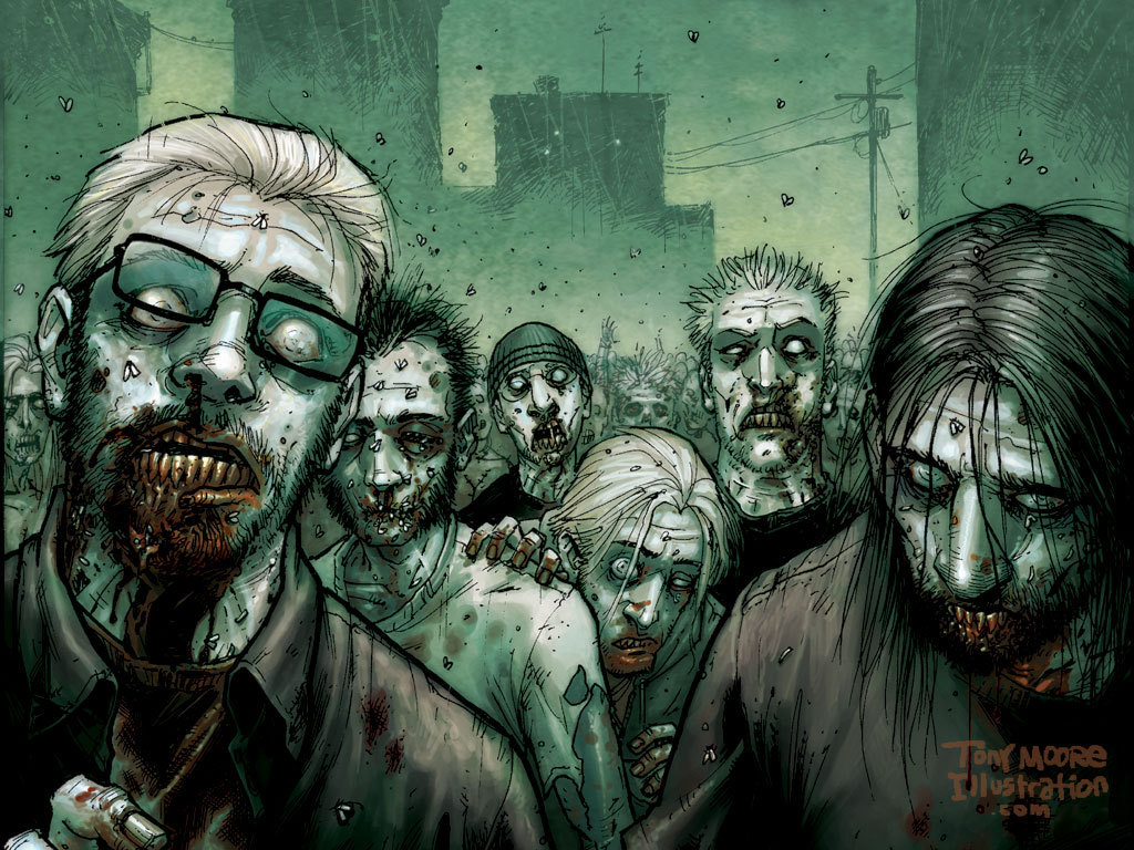 The walking dead the walking dead comic