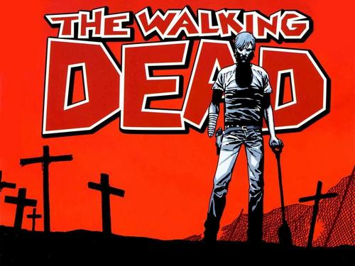 the walking dead wallpaper possibly containing anime titled The Walking Dead Comic