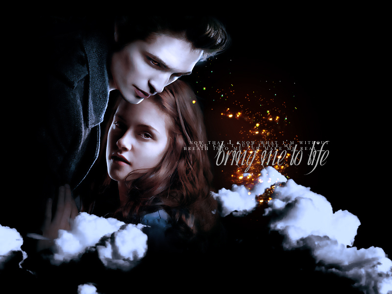 edward cullen wallpaper twilight. Bella and Edward - Twilight