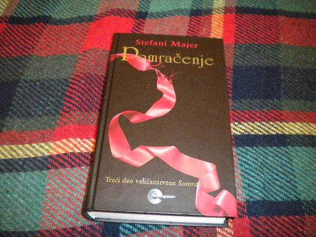 Twilight saga:Twilight,New Moon,Eclipse,Breaking dawn-Serbian translation