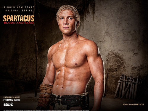 Varro  - spartacus-blood-and-sand Wallpaper