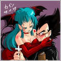 Vegeta and Bulma - vegeta-and-bulma photo
