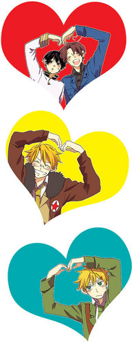 We love Hetalia!