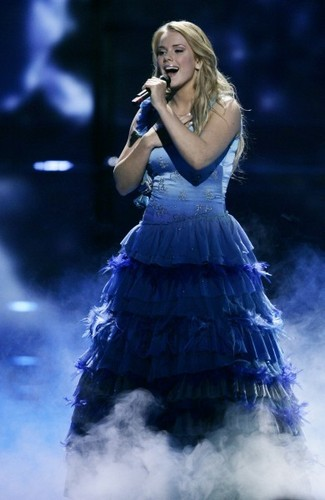 Eurovision Song Contest wallpaper probably containing a hoopskirt entitled Yohanna (2009)