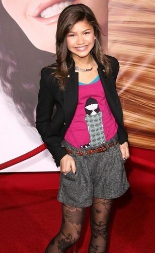 "Zendaya At The ""Tangled"" Premiere"