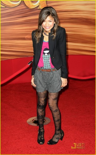 "Zendaya At The ""Tangled"" Premiere"