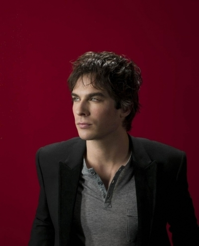 Damon Salvatore wallpaper with a business suit, a suit, and a three piece suit called ian somerhalder