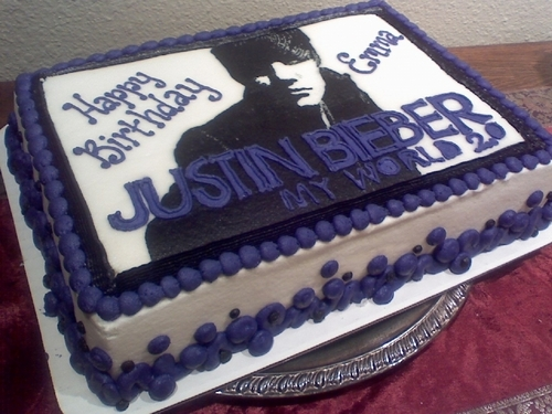 Justin Bieber wallpaper called justin cake