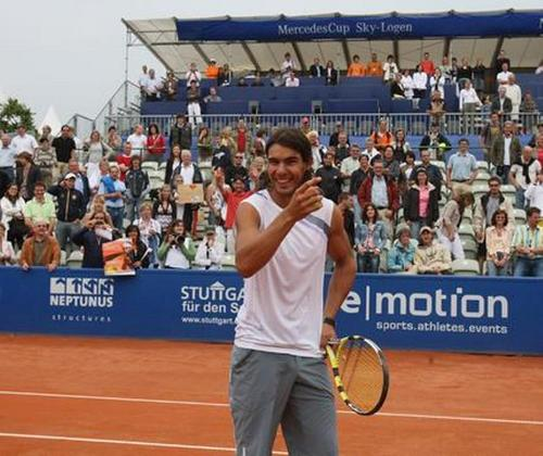 rafa テニス smile