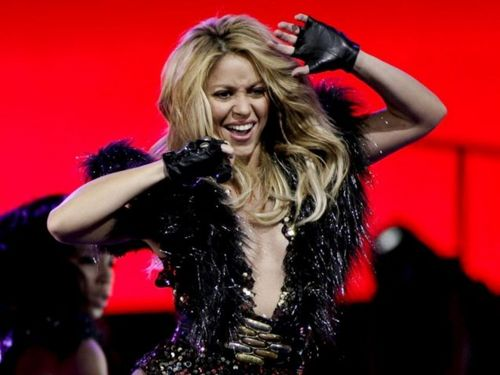 Shakira wallpaper possibly containing a portrait entitled shakira breast