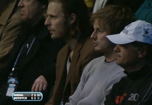 ATP World Tour Finals at O2 Arena on November 26, 2010