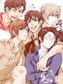 Austria Rome Russia S. Italy Spain - hetalia photo