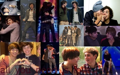 1 Direction All U Need Is amor Aww Bless Them :) x