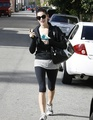 23.11 - Ashley after the gym in Studio City - twilight-series photo
