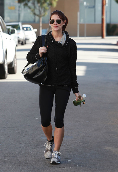 24.11 - Ashley went to the gym in Studio City