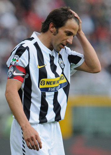 A. Del Piero playing for Juventus