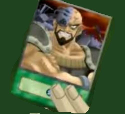 A card that looks Nappa with a beard