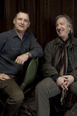 Alan Rickman and Bill Pulman