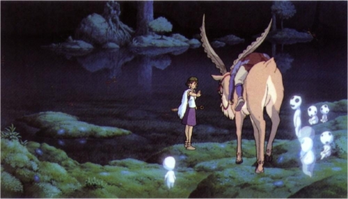 princess mononoke san and ashitaka
