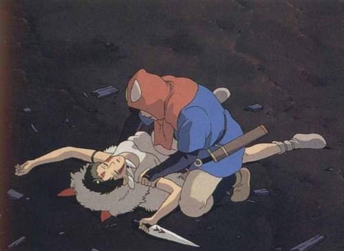 Princess Mononoke images Ashitaka and San HD wallpaper and ...