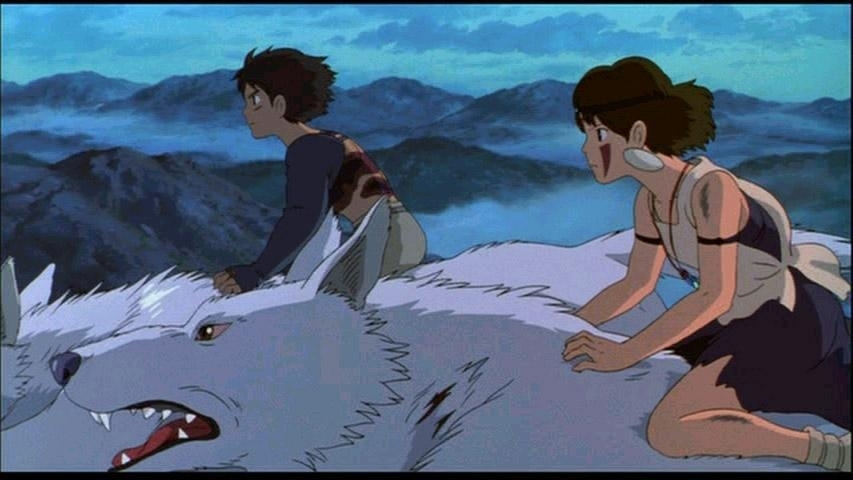Ashitaka And San Princess Mononoke Image 17255181 Fanpop