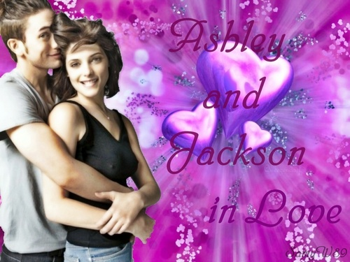 Ashley and Jackson in Liebe
