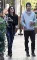 Ashley and Joe Jonas Dog walk in Los Angeles - November 24, 2010 - twilight-series photo