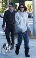 Ashley and Joe Jonas  Walking their dogs in LA - November 26, 2010 - twilight-series photo