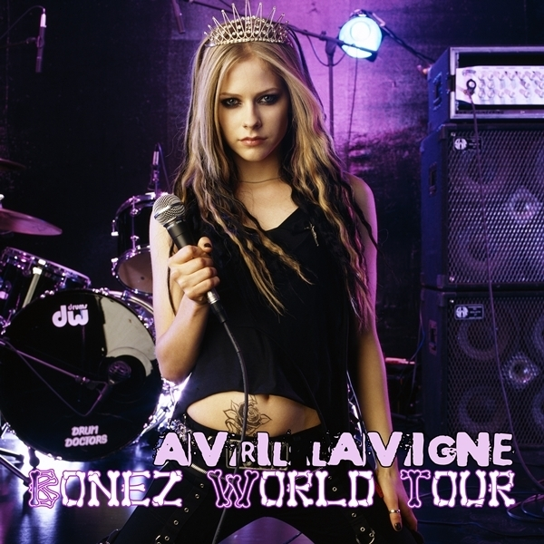 Avril Lavigne - Bonez World Tour [My FanMade Album Cover]