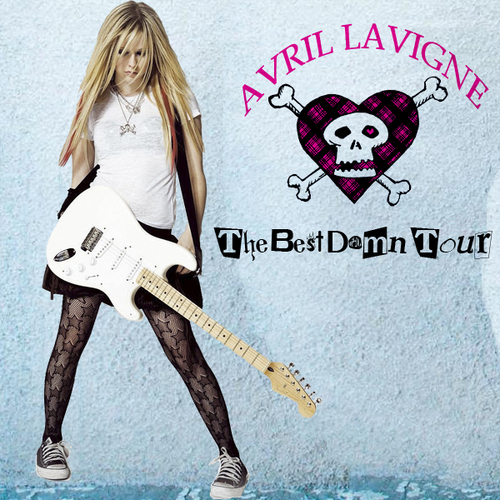 Avril Lavigne - The Best Damn Tour [My FanMade Album Cover]