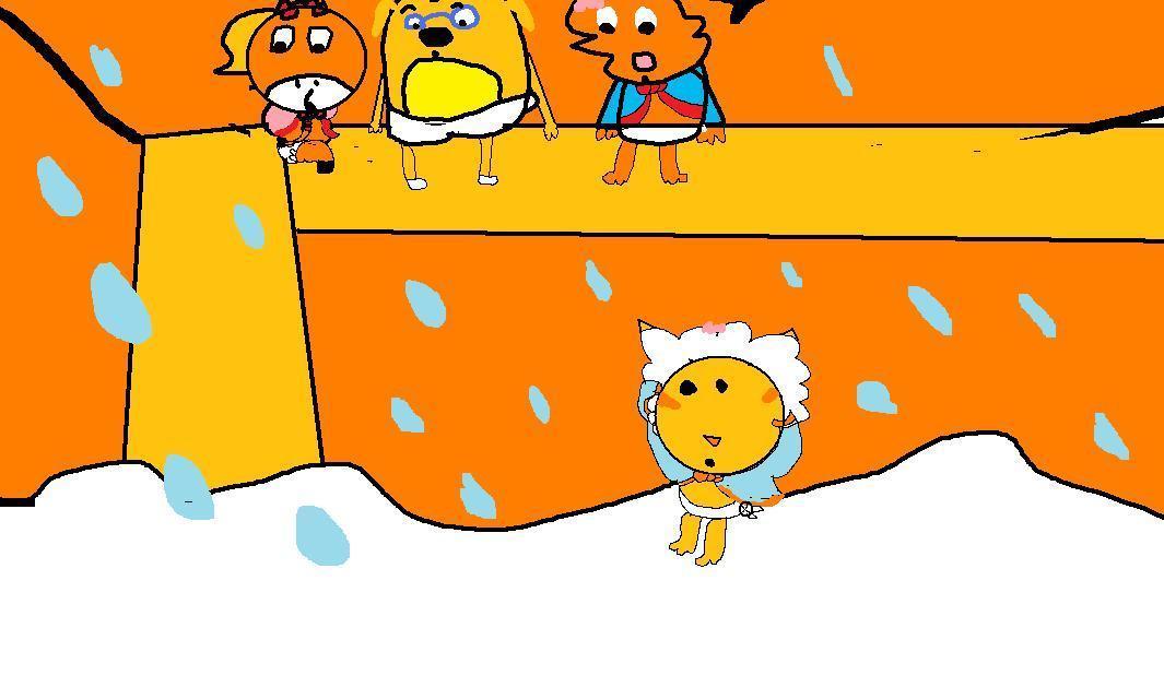 शिशु Zeo Ruff Victora & नारंगी, ऑरेंज Kitty forever young