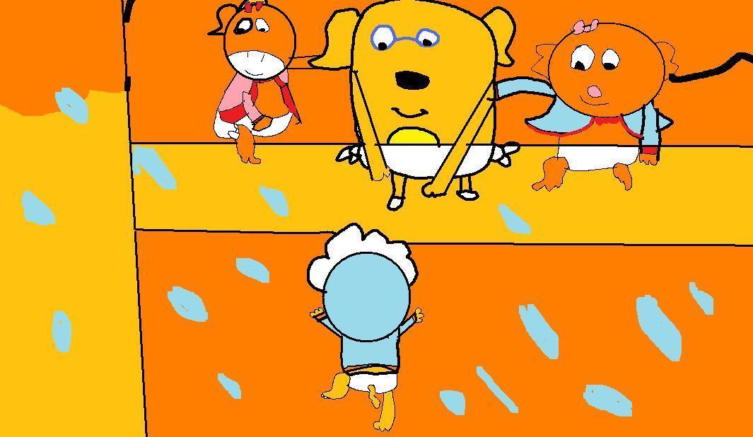 शिशु Zeo Ruff Victora & नारंगी, ऑरेंज Kitty forever young2