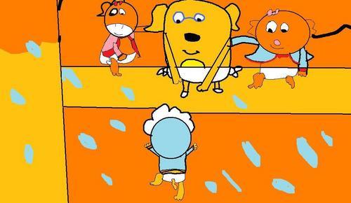 Bayi Zeo Ruff Victora & orange Kitty forever young2