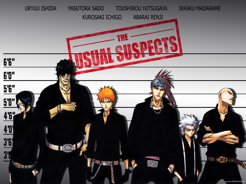 Bleach Anime wallpaper containing anime entitled Bad Boys