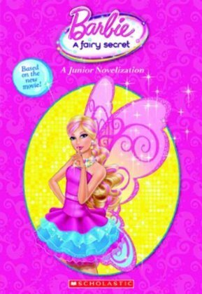 Barbie-Filme Hintergrund entitled Barbie A Fairy secret- another book cover + new plot