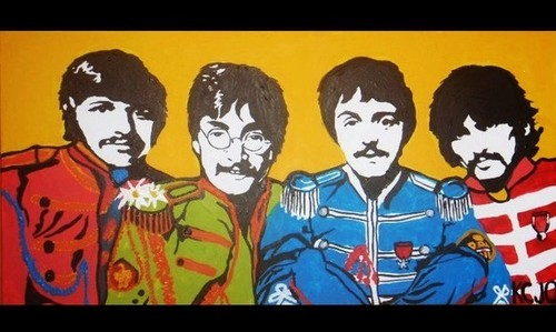 Beatles painting for sale