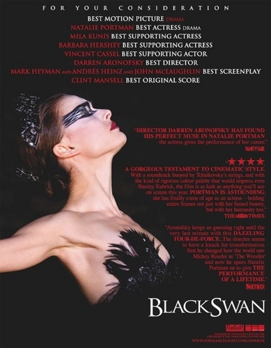 Natalie Portman wallpaper probably containing sunglasses, a newspaper, and anime titled Black Swan