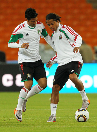 C. Vela playing for Mexico