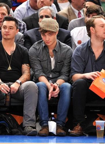 シャルロット, シャーロット Bobcats vs New York Knicks game