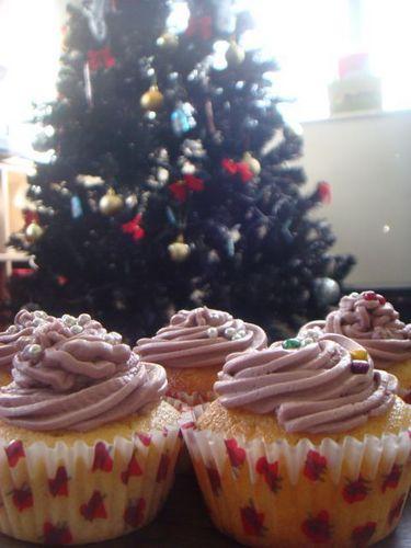 क्रिस्मस cupcakes:)