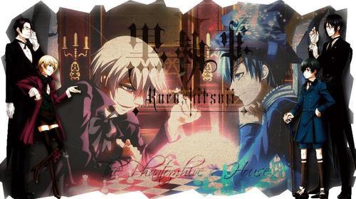 Claude and Alois vs. Sebastian and Ciel