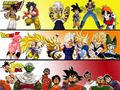 DB, DBZ, DBGT - dragon-ball-z wallpaper