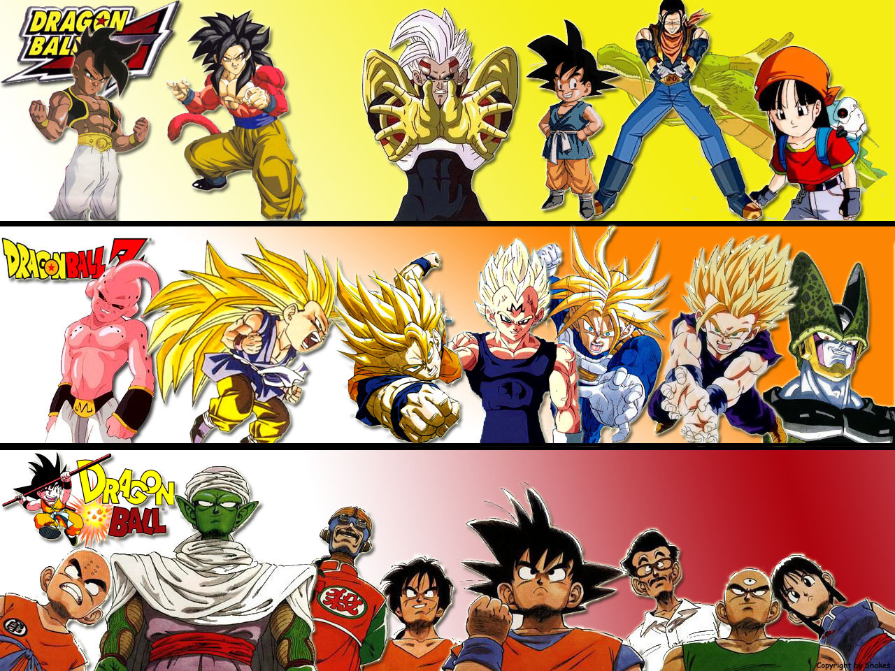 Dbz Dbgt Dragon Ball Wallpaper