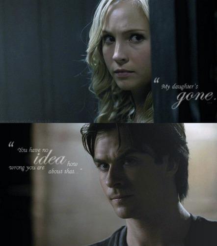 Damon/Caroline [2x05]
