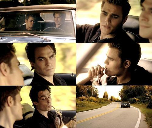 Damon & Stefan S. <3