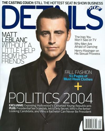 Details - Matt LeBlanc (September 2004)