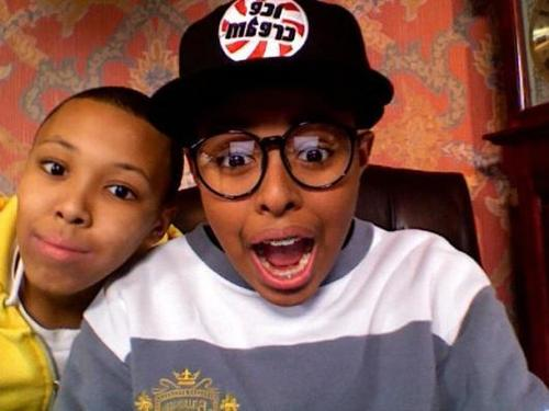 Diggy Simmons wallpaper titled Diggy N Russy