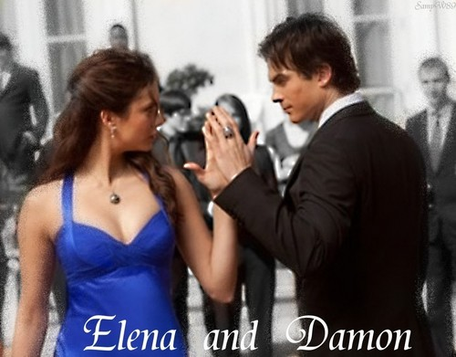 Elena and Damon - Dance