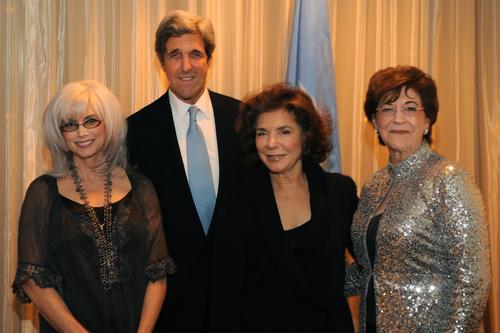 Emmylou Harris with John Kerry